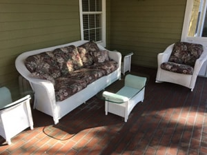 Estate Sale Outdoor Furniture